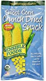 Sensible Foods Organic Crunch Dried Snacks, Sweet Corn, 0.75-Ounce Pouches (Pack of 24)