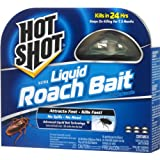 Hot Shot 95789 Mini Ultra Liquid Roach Bait, 6 Count