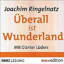 Überall ist Wunderland: Gedichte (       ungekürzt) von Joachim Ringelnatz Gesprochen von: Günter Lüders