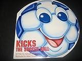 Kicks the Soccer Ball
