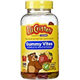 Lil Critters Gummy Bear Vitamins, 190-Count Bottles (Pack of 2)