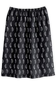 Green 3 Apparel Reclaimed Navy Waves Skirt