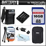 16GB Accessory Kit For Nikon