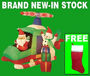 Amazon com blow up christmas yard decorations airblown 5 ft