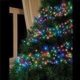Multi Coloured 480 LED Cluster Christmas Lights