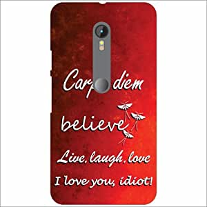 Motorola Moto G (3rd gen) Back Cover - Believe Designer Cases