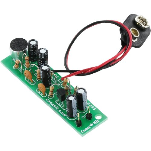 Canakit Ck495 - Electret Microphone Pre Amp (Electronic Kit - Requires Assembly)