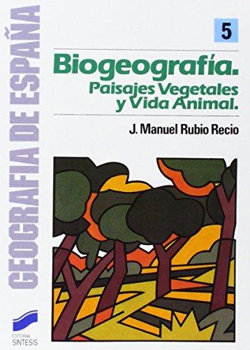 La biogeografía (Geografía de España)
