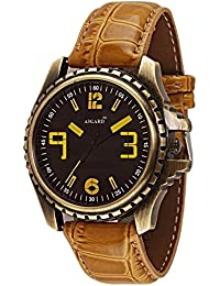 Asgard Analog Black Dial Watch For Men- GR-ANT-89