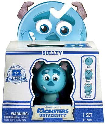 Disney Pixar Monsters University - Roll-A-Scare Monsters - Sulley - 1