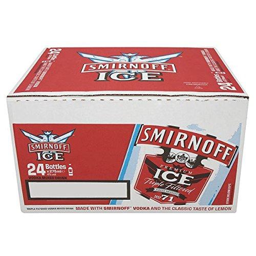 discount duty free Smirnoff Ice Vodka Premix Drink (24 x 275ml Glass Bottles)