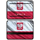 "atFoliX Designfolie ""Polen Flagge"" f�r Amazon Kindle Fire HD 7 - ohne Displayschutzfolievon ""Designfolien@FoliX"""