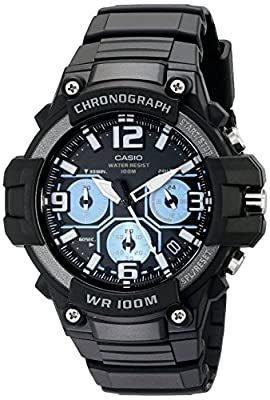 Casio MCW-100H-1A2VCF 卡西欧男士光动能防水运动手表