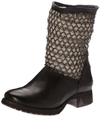 Bunker Pic, Boots femme - Noir (Blk/Cooper), 39 EU