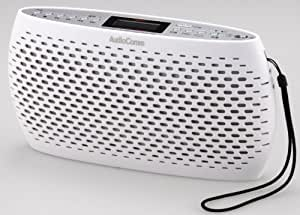 OHM Electron AudioComm ポータブルCD/MP3/ラジオ ホワイト RCR-80Z-W