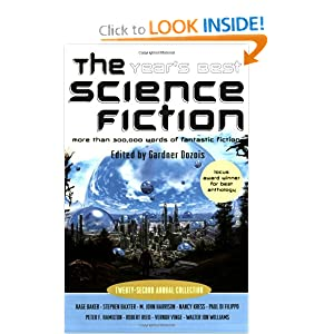 The Year's Best Science Fiction: Twenty-Second Annual Collection by Benjamin Rosenbaum