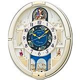SEIKO CLOCK(セイコークロック) からくり掛け時計 薄金色 RE572S RE572S