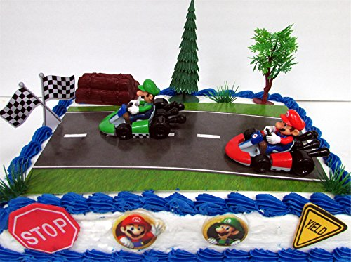 how to make a go kart cake topper