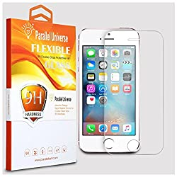 Parallel Universe UNBREAKABLE FLEXIBLE Tempered Glass Screen Protector for Apple iPhone SE