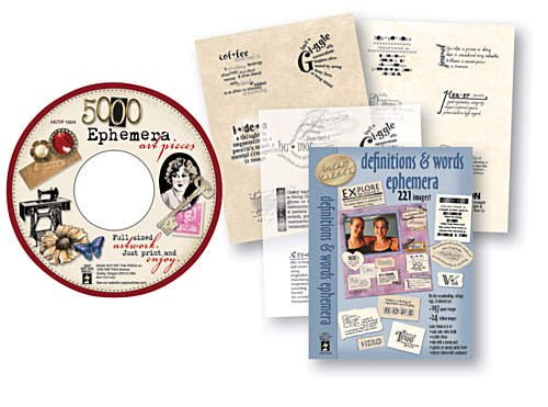 Hot Off The Press - Ephemera CD With FREE Book