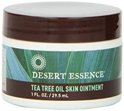 Desert Essence Tea Tree Oil Skin Ointment, 1 Fluid Ounce