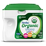 Similac Advance Organic Infant Formula with Iron, Powder, 23.2 Ounces (Pack of 6)(Frustration Free Packaging)