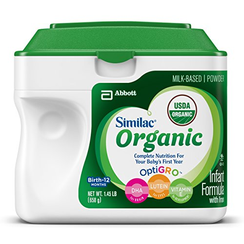 Similac Advance Organic Infant Formula with Iron, Powder, 23.2 Ounces (Pack of 6)(Frustration Free Packaging) (Amazon Frustration Free compare prices)