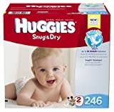 Huggies Snug and Dry Diapers Economy Plus, Size 2, 246 Count