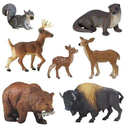 Buy Low Price Safari Wild Safari North American Wildlife Figure (B000U0F3DE)