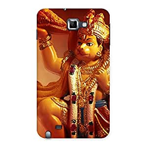 Lord Hanuman Multicolor Back Case Cover for Galaxy Note