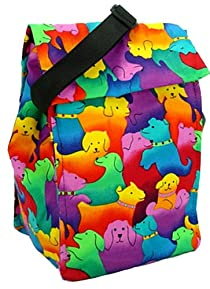 Cool Tote Insulated Lunch Bag Cooler Tote with Freezer Pack. Reusable for Kids, Teens, and Adults.