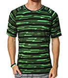Nike Men's Dri-Fit Printed Miler Running Shirt