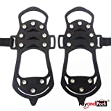 STABILicers Maxx Original Heavy Duty Stabilicers Ice Traction Cleat for Snow and Ice – Traction cleats for Boots and Shoe Ice Cleats