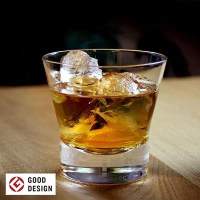 【グッドデザイン賞受賞】 生涯を添い遂げるグラス ロックグラス 透明