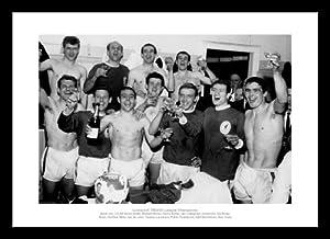 Framed Liverpool Fc 1964 League Champions Team Photo Memorabilia