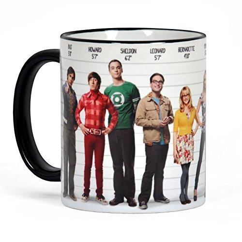 Big Bang Theory - Tazza da caffè con stampa circolare - Licenza ufficiale