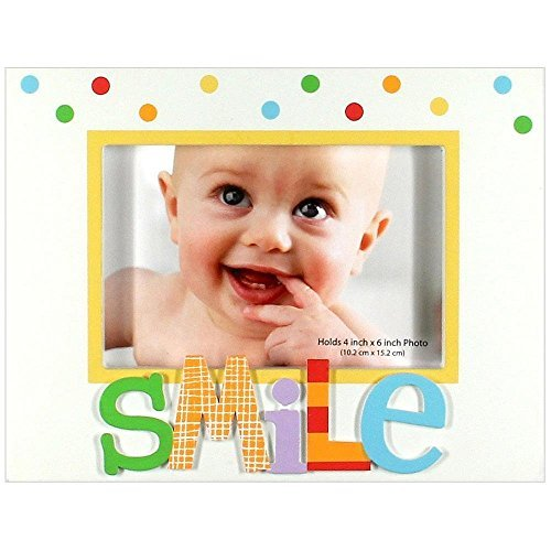 "C.R. Gibson Alphabet Animals """"Smile"""" Picture Frame"