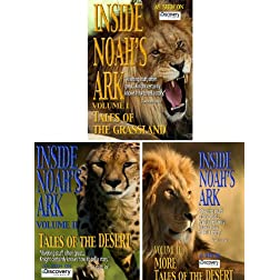 Inside Noah's Ark: The Complete Series - 3 DVD Set (Amazon.com Exclusive)