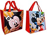 Disney Mickey Mouse and Friends Reusable Tote Bags, 2pack
