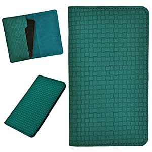 DCR Pu Leather case cover for Karbonn A28+ (green)
