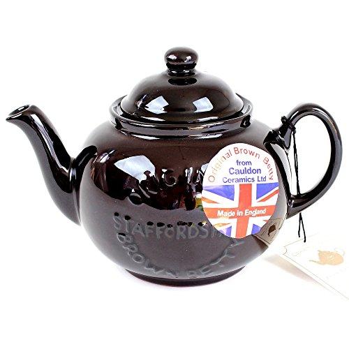 BROWN BETTY ブラウンベティー ティーポット 4カップ用 Newモデル ロゴ入り 英国製