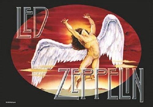 Led Zeppelin Swansong Kashmir New Official Textile Poster 75Cm X 110Cm