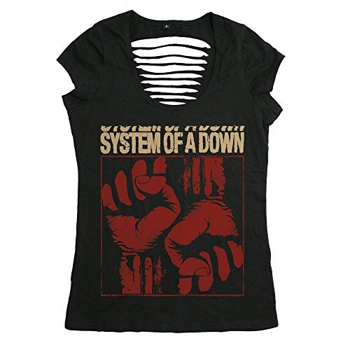 SYSTEM OF A DOWN - FISTACUFF - OFFICIAL WOMENS T SHIRT