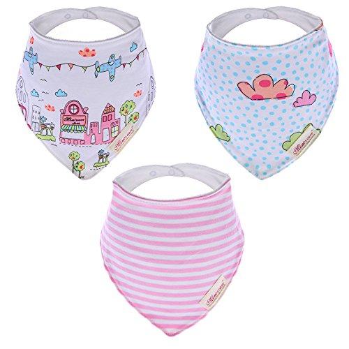 hosee-bebe-unisex-panuelo-para-la-cabeza-con-instrucciones-para-coser-baberos-diseno-de-gato-y-texto
