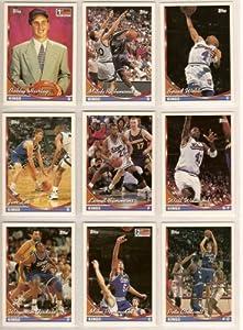 Sacremento Kings 1993 Topps Basketball Team Set (Wayman Tisdale) (Bobby Hurley... by Topps
