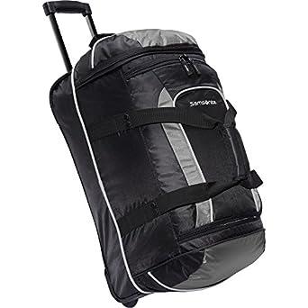 "Samsonite Luggage 22 Inch Andante Wheeled Duffel (22"", Black/Charcoal)"