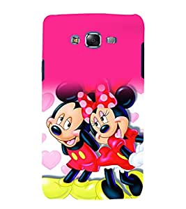 printtech Disney Mickey Minnie Mouse Back Case Cover for Samsung Galaxy Grand 3 G720 / Samsung Galaxy Grand Max G720