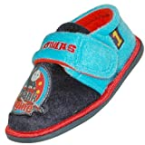 Kids Children Thomas the Tank Engine Number 1 Warm Slippers Available in Child Sizes UK 4-10
