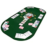 Faltbare-Pokertischauflage-Poker-Tischauflage-Pokertisch-Casino-Pokerauflage-160-x-80-cm