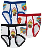 Fruit of the Loom Little Boys' 3 Pack Scooby Doo Briefs Prints,Multi,8